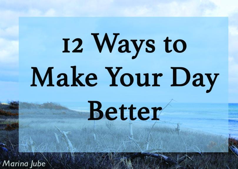 12 Ways to Destress Header