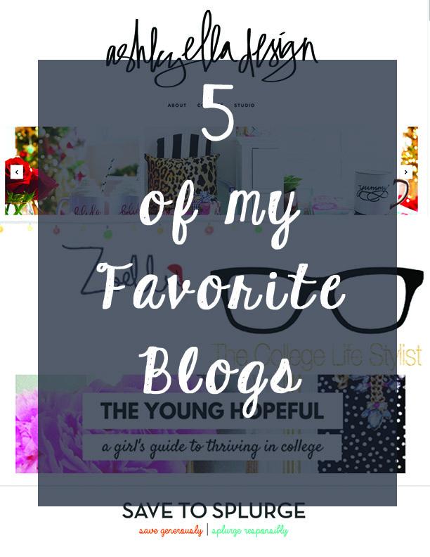 5 fav blogs