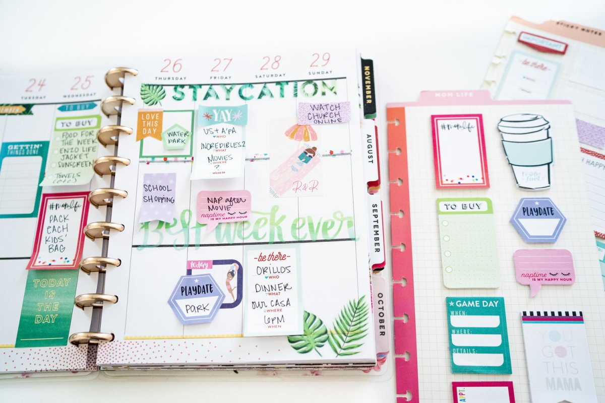 How I Organize My Planner {The Happy Planner}