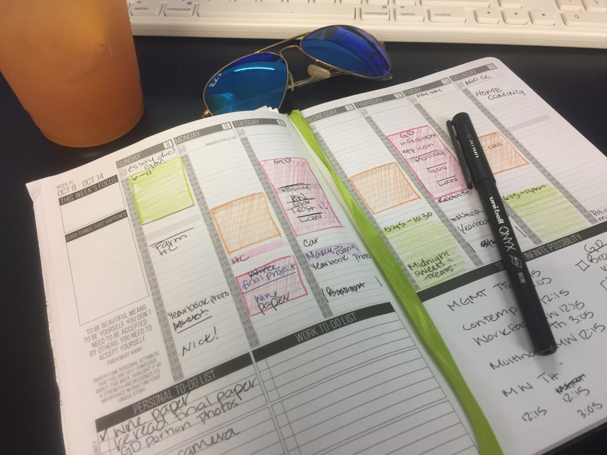 How I Use My Passion Planner