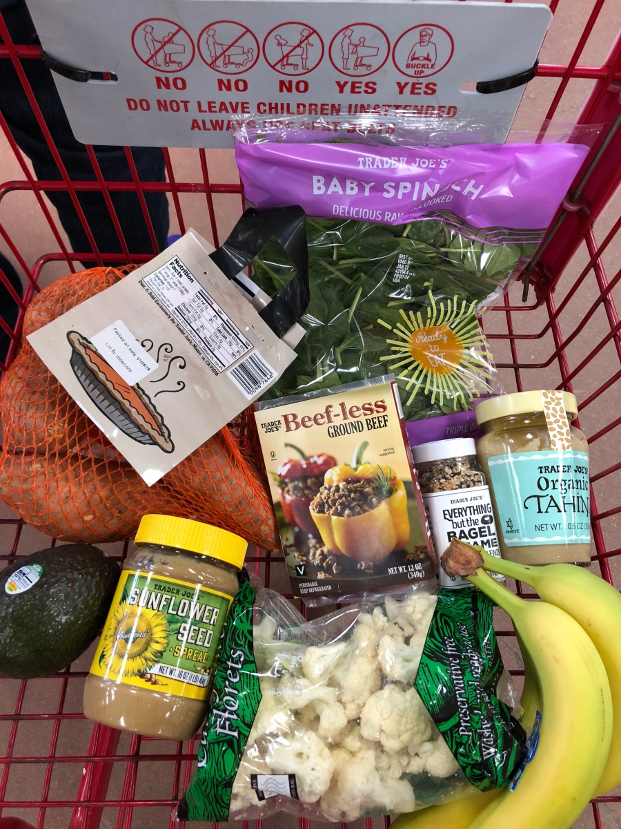 Trader Joes Haul on a College Budget